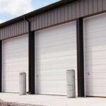 Sectional Noninsulated Steel Doors